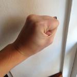 Fist size
